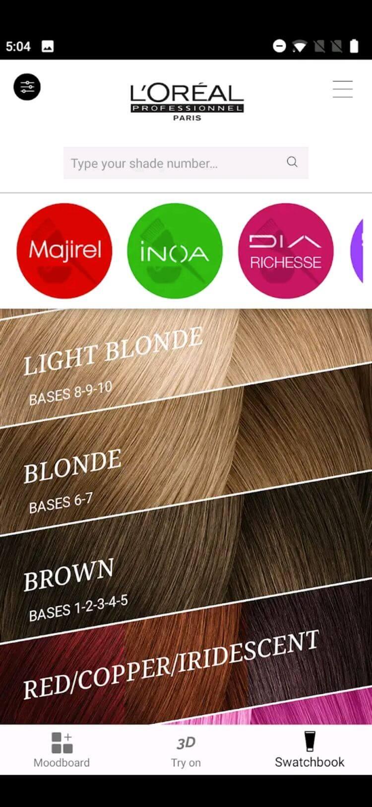 Style My Hair App - Best Hair Color App