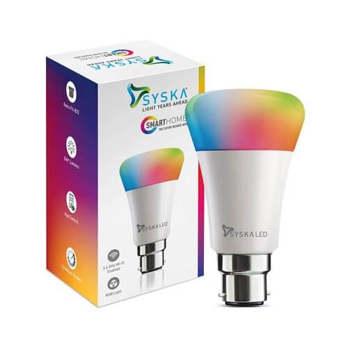 Syska Smart Bulb - Smart LED Bulb