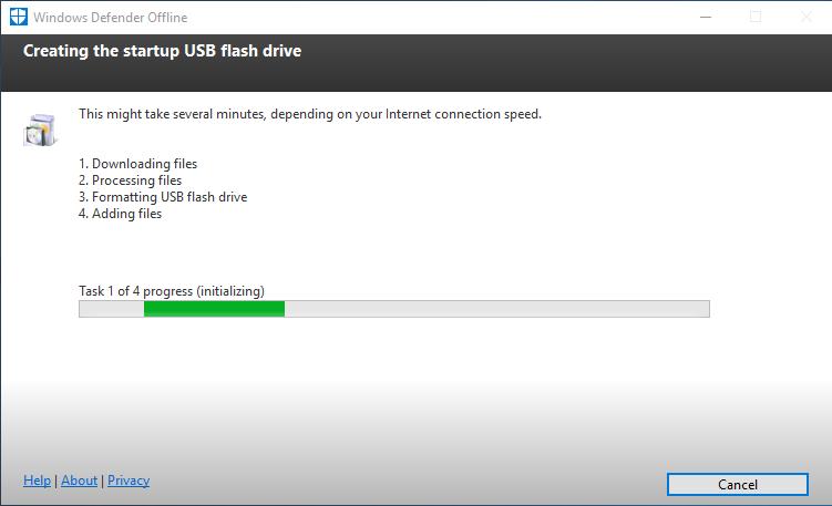 Windows Defender Online - Bootable Antivirus Tools