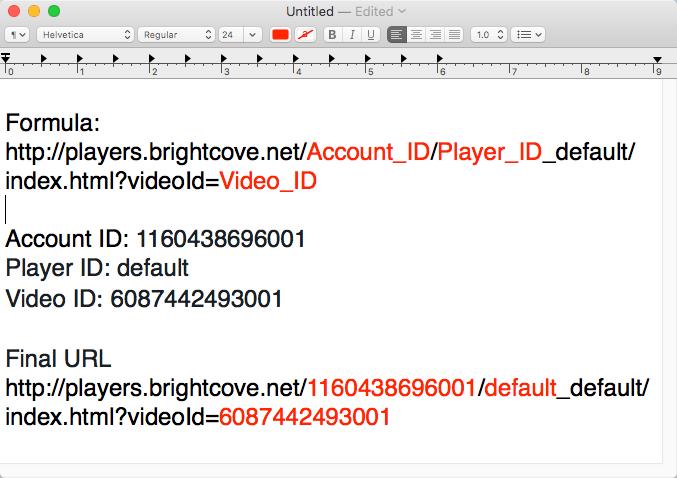 Brightcove video player downloader