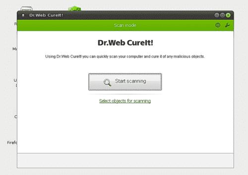 DR Web Live Disk - Bootable Antivirus Tools