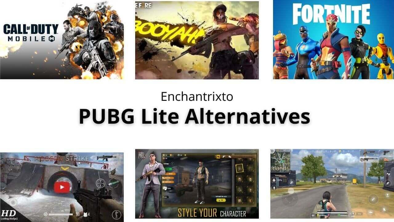 PUBG Lite Alternatives