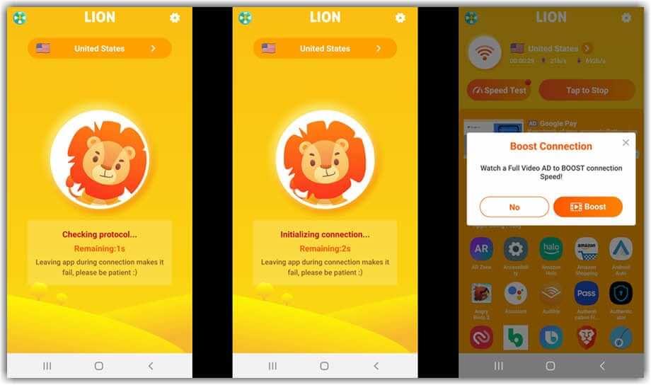 Lion VPN - VPN for PUBG Lite Free Download